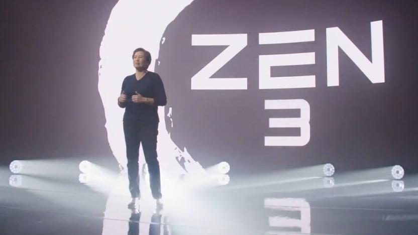 CEO Lisa Su präsentiert Zen 3.