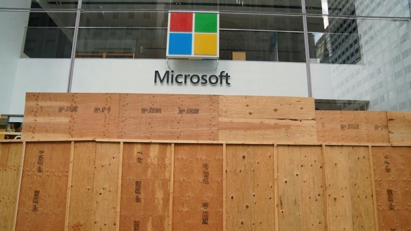 Microsoft Store in New York im Jahr 2020