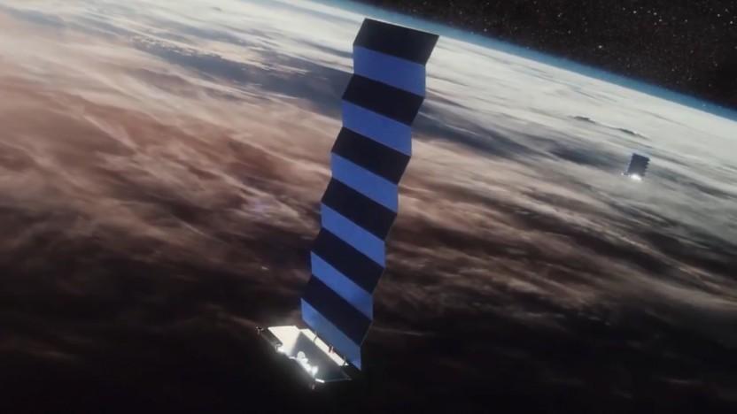 Inzwischen sind für die Betaphase genug Starlink-Satelliten im Orbit.