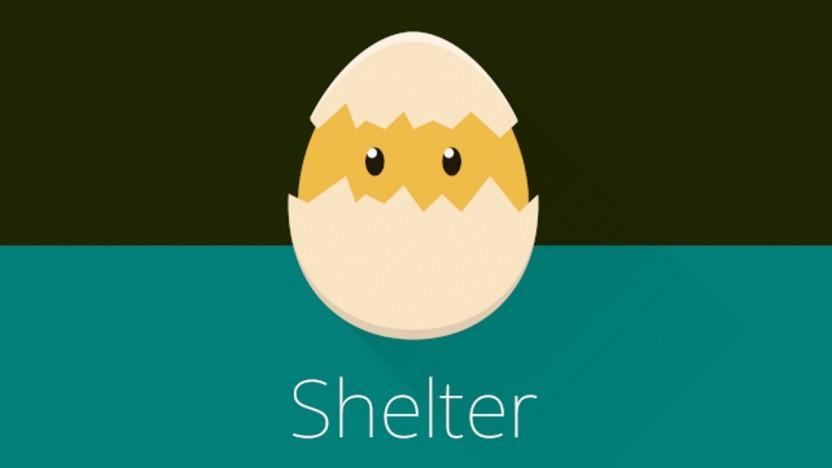 Das Logo von Shelter