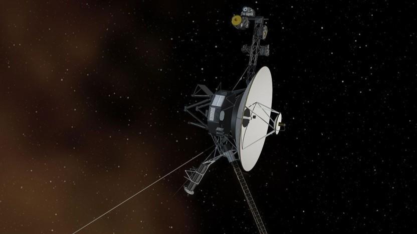 Voyager-Sonde (künstlerische Darstellung): Sender nach 48 Jahren ausgetauscht