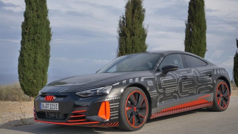 Der neue RS E-Tron GT überzeugt mit einer enormen Beschleunigung.