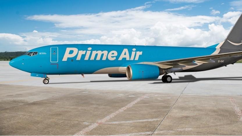 Amazon Luftfrachtzentrum in Leipzig ist eröffnet.