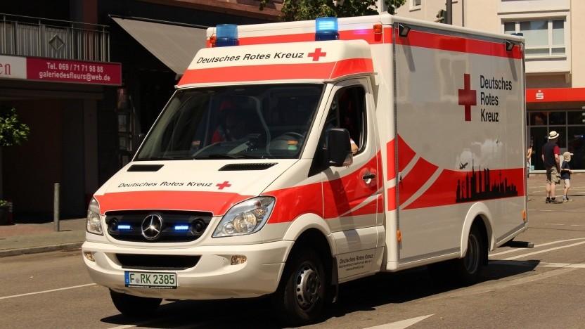 Mit der Software Ivena meldet der Rettungsdienst Notfallpatienten in Krankenhäusern an.