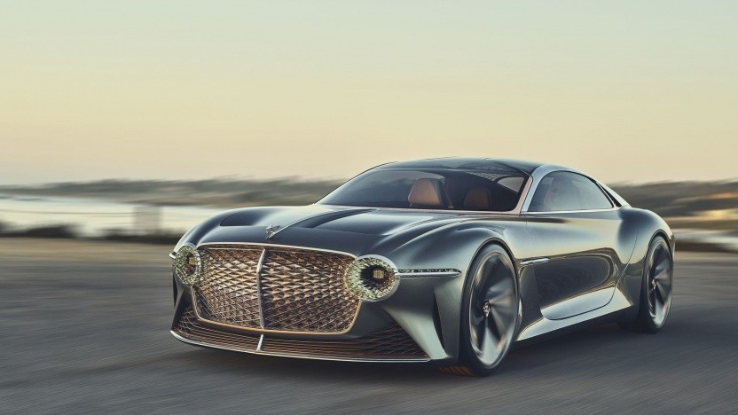 Konzeptfahrzeug Bentley EXP 100 GT: ab 2026 nur noch Plug-in-Hybride und E-Autos