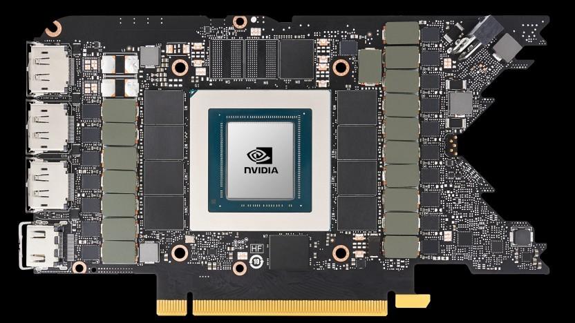 Platine einer Geforce RTX 3080