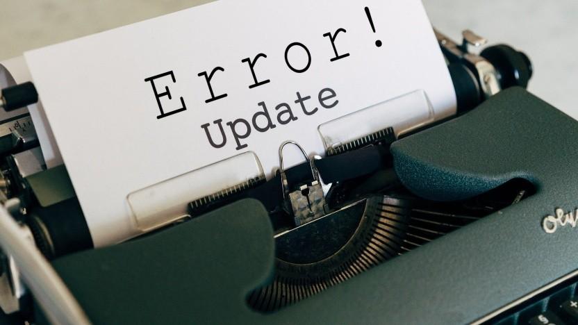 Windows 10 gibt einen Fehler aus, wenn Windows-Accounts umbenannt wurden.