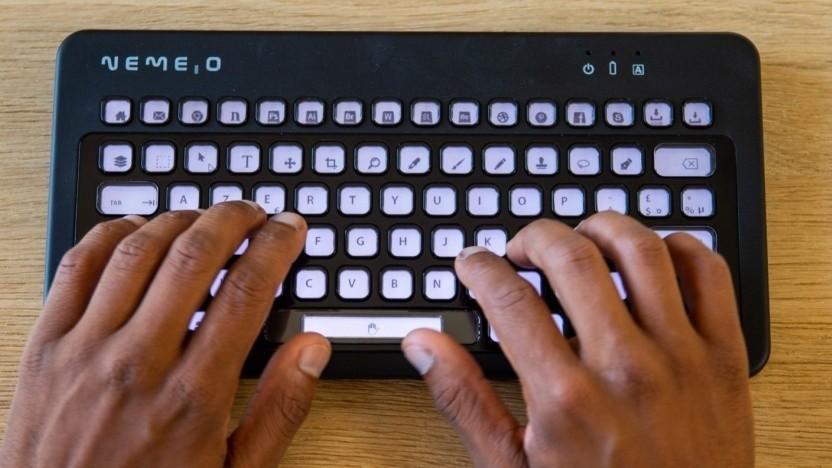 Die E-Paper-Tastatur Nemeio
