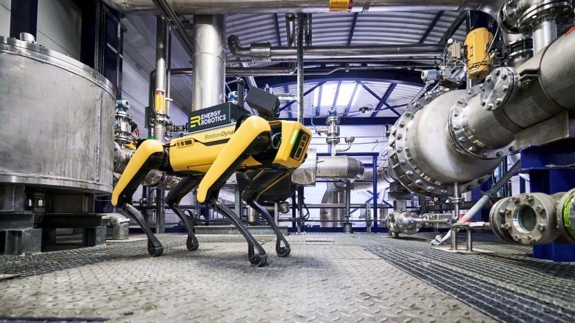 Laufroboter Spot: Einem Roboter wird nicht langweilig.