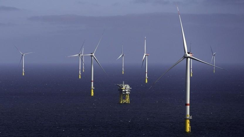 Offshore-Windpark von Ørsted: Windstrom für die Wasserstofferzeugung