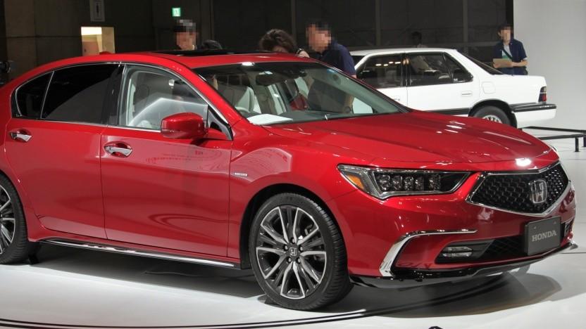 Der Honda Legend soll autonom im Stau fahren können.