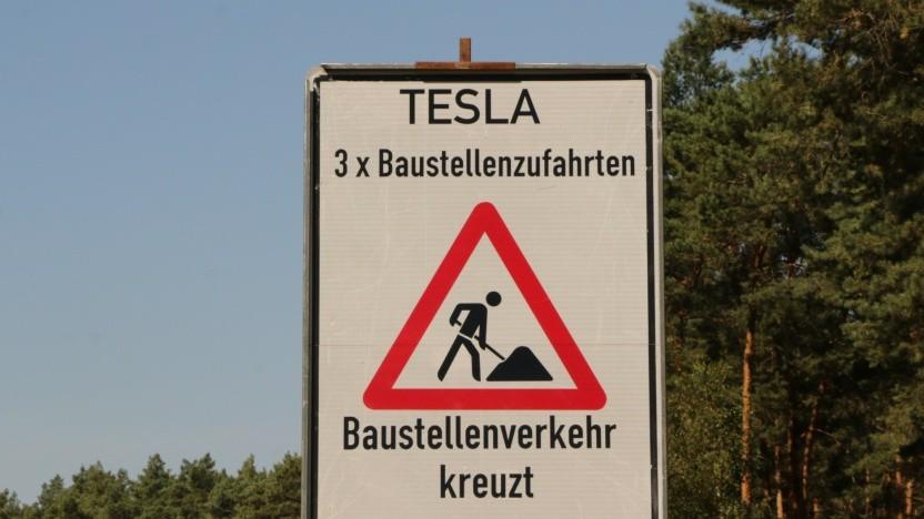 Tesla-Baustelle in Grünheide: Warten auf Zulassung Nummer 6