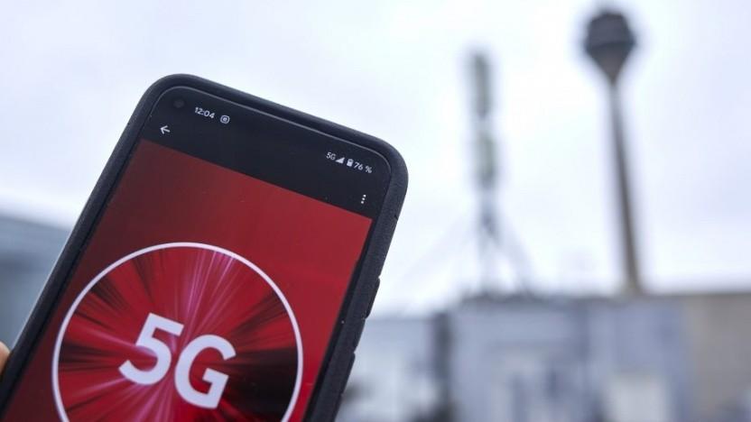 Mehr 5G bei Vodafone