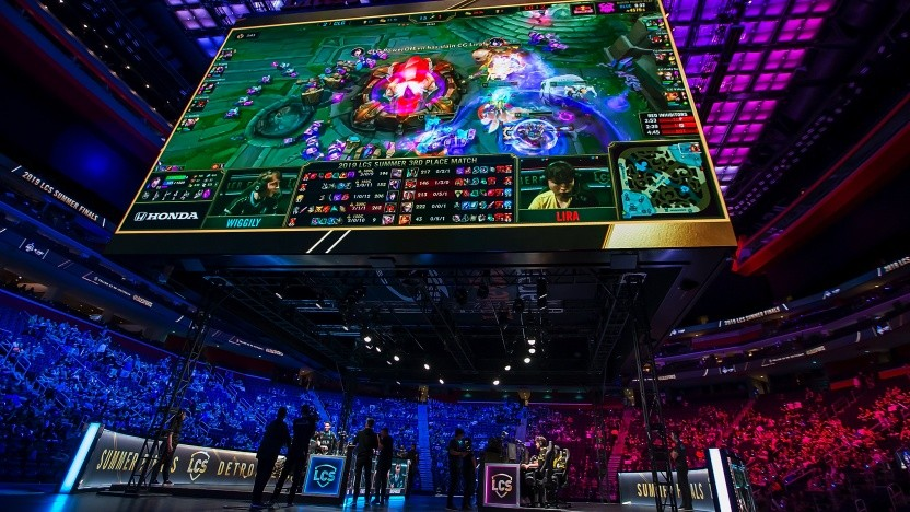 E-Sport-Turnier in Detroit im August 2019