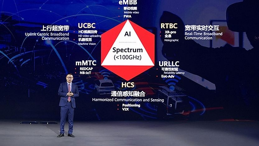 David Wang, Huawei Executive Director, am 13. November 2020 auf dem Global Mobile Broadband Forum (MBBF) in Shanghai
