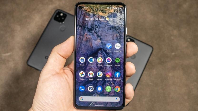 Das Pixel 4a 5G von Google