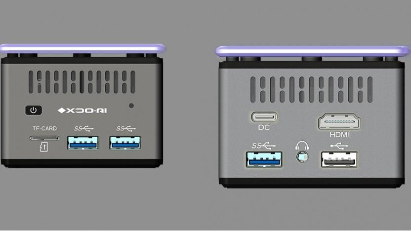Der Pico PC hat recht viele Anschlüsse.