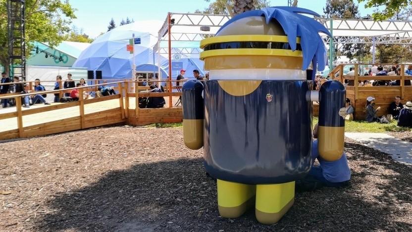 Android-Geräte übertragen Hintergrunddaten für Werbeschaltungen.