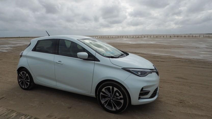 Elektroauto Renault Zoe: über 5.000 Zoes im Oktober zugelasen