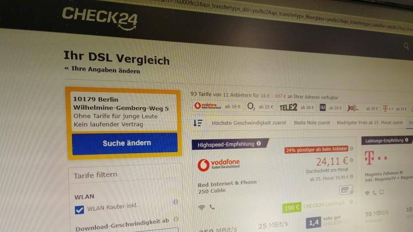 Check24 blockiert DSGVO-Anfragen über Itsmydata.