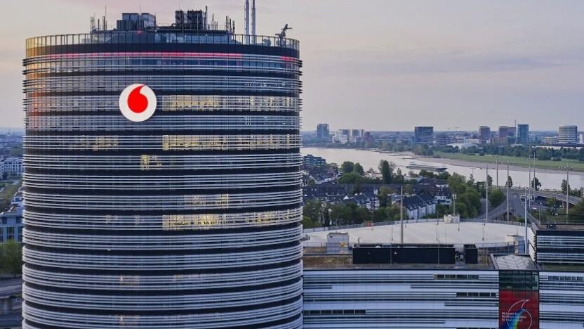 Sitz von Vodafone in Düsseldorf