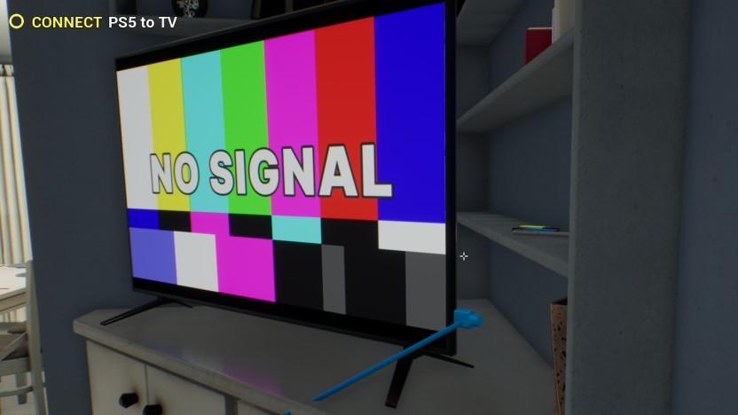 Bild aus dem PS5 Simulator
