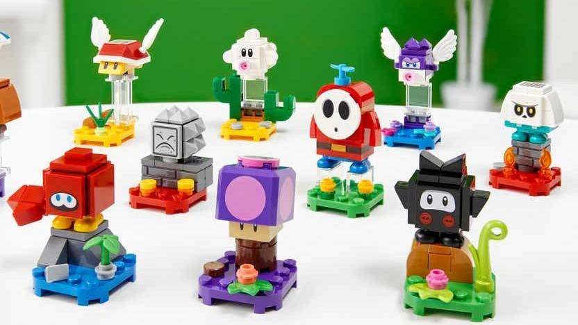 Die neuen Super-Mario-Sets bringen weitere Figuren der Serie in Lego-Form.