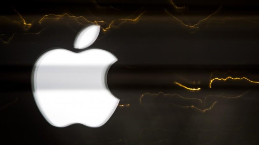 Diebe haben 48 Paletten mit Apple-Geräten erbeutet.