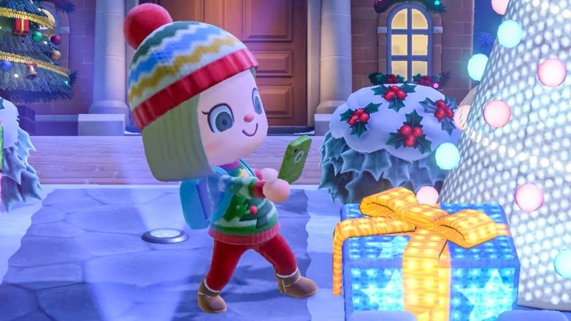 Artwork von Animal Crossing - New Horizions (Winter Update)