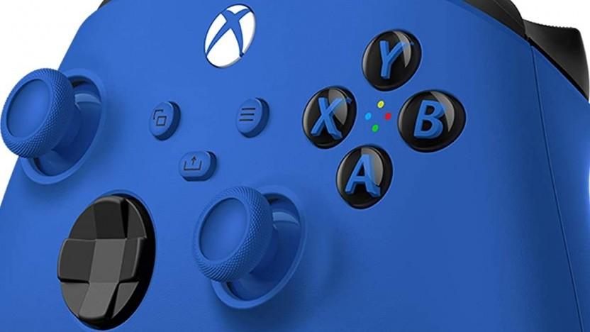 Das blaue Gamepad für die Xbox Series X/S soll ab November 2020 verfügbar sein.