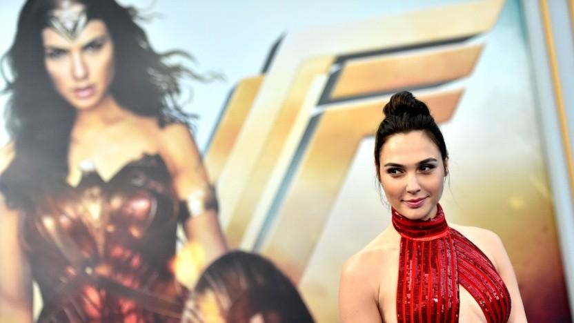 Gal Gadot bei der Premiere von Wonder Woman 2017