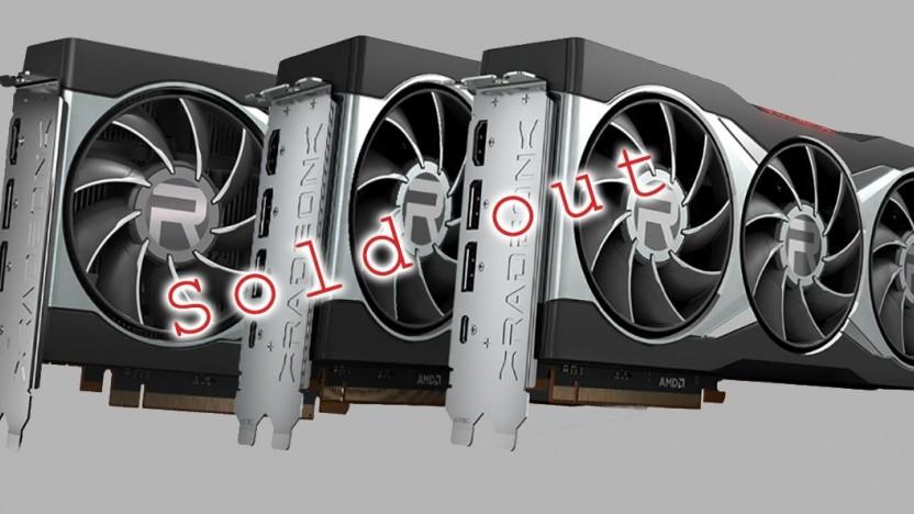 AMDs Bignavi-Grafikkarten sind fast ausverkauft.