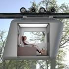 Futuristische Schwebebahn im Testbetrieb: Verkehrsmittel der Zukunft für die dritte Dimension
