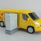Rinspeed Citysnap: Mobile Paketstation aus dem Elektroautotransporter
