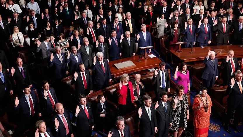 Grundlage der Untersuchung waren Bilder der Abgeordneten des US-Kongresses.