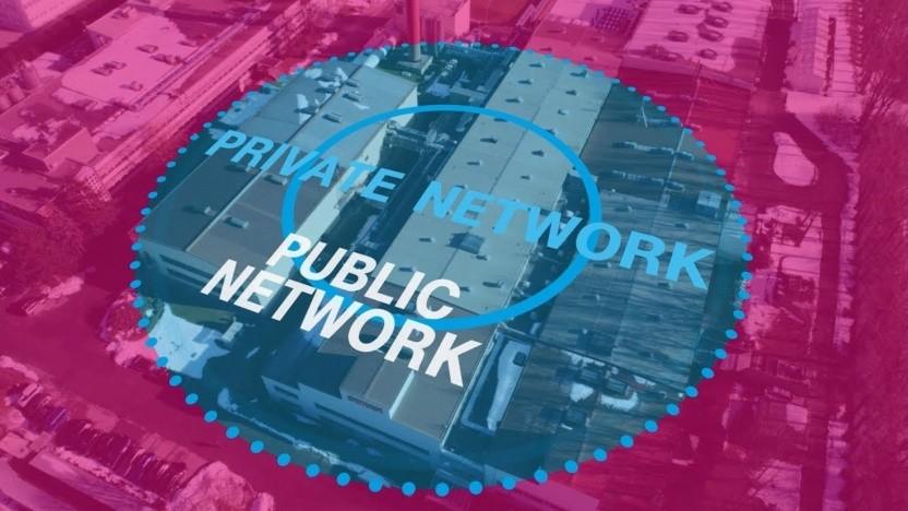 Campus Netz: Werbegrafik der Deutschen Telekom