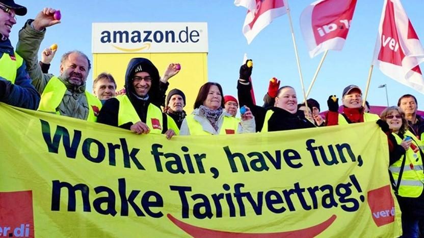 Die Streikbewegung bei Amazon Deutschland hat einen langen Atem.