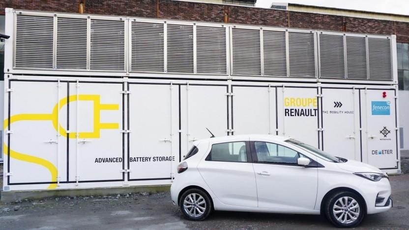 """Projekt """"Advanced Battery Storage"""" im Kraftwerk Elverlingsen: eines der größten stationären Energiespeichersysteme in Europa"""