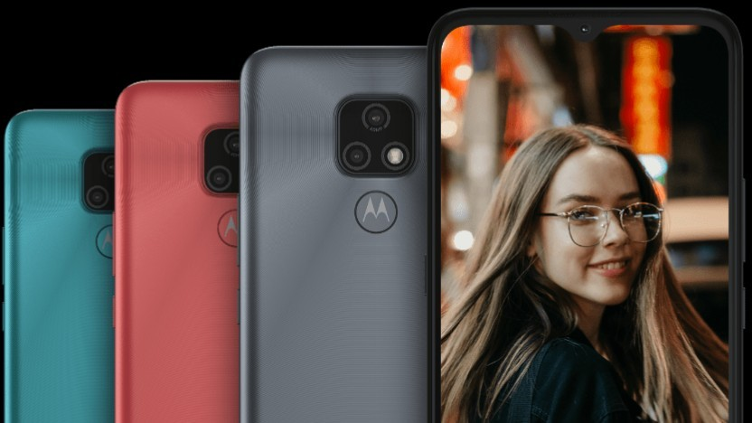 Das Moto E7 von Motorola
