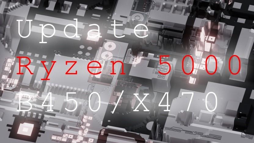 B450- und X470-Boards erhalten ein Bios-Update für Ryzen 5000.