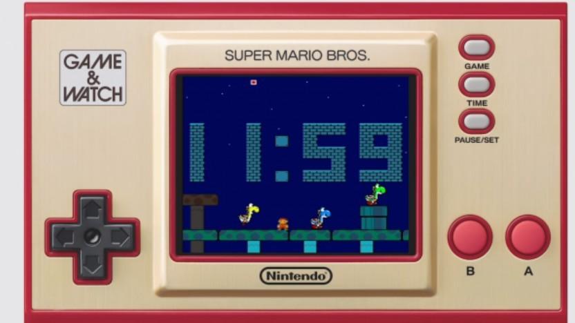 Der Game & Watch kann über Umwege nicht nur Super Mario abspielen.