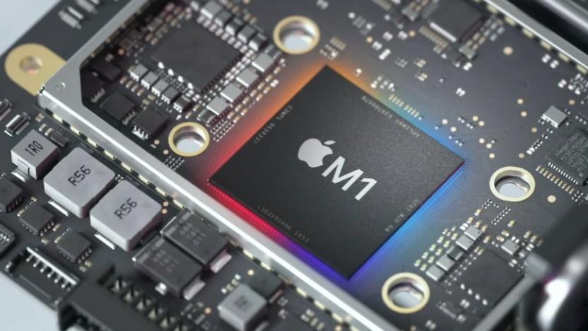 Der M1 auf einer Mac-Mini-Platine