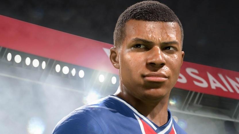 So soll Kylian Mbappé laut EA Sports in Fifa 21 auf Next-Gen aussehen.