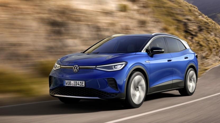 Der VW ID.4 soll Teslas Model Y Konkurrenz machen.
