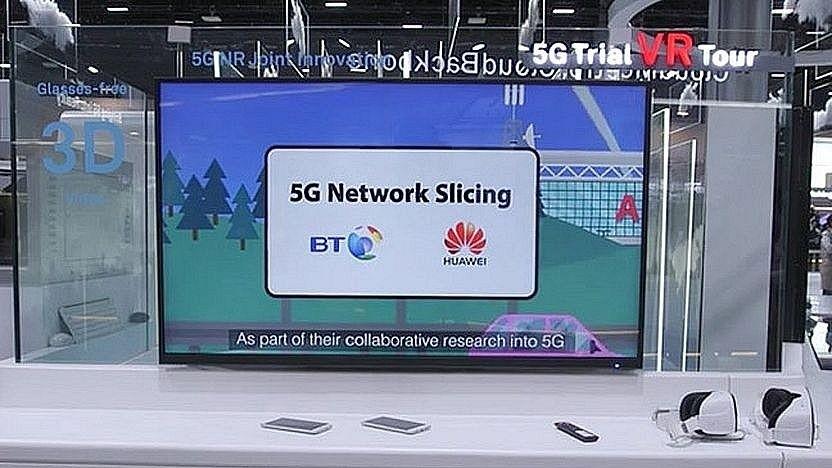 Partner Huawei und BT