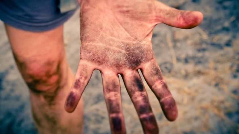 Und ab auf den Perso mit den Fingerabdrücken ...