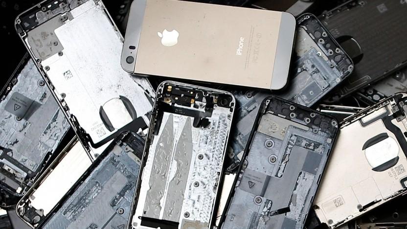 Die britische Regierung wirft Apple Versäumnisse bei der Vermeidung von Elektroschrott vor.