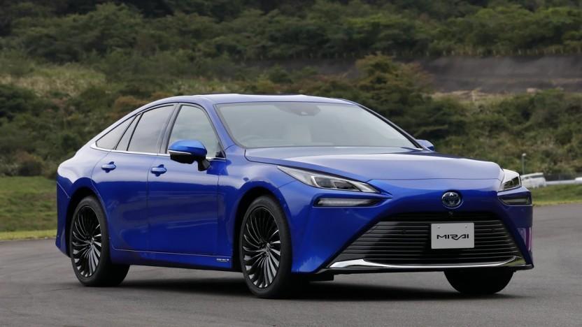 Toyota Mirai II: 150 km mehr Reichweite als der Vorgänger
