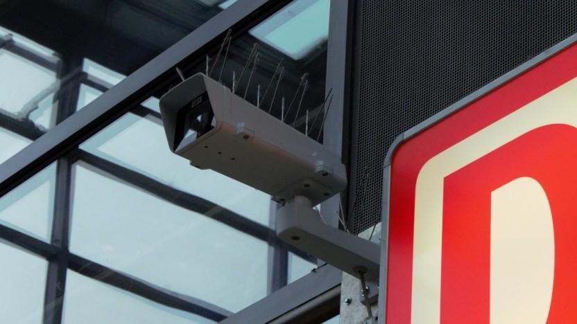 Überwachungskameras in Bahnhöfen sollen keine Gesichtserkennung ermöglichen.