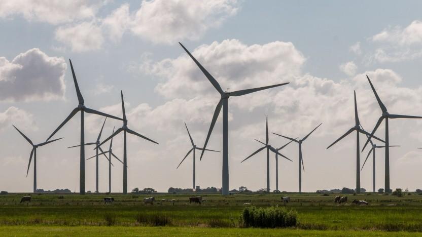 Windräder in Schleswig Holstein (Symbolbild)